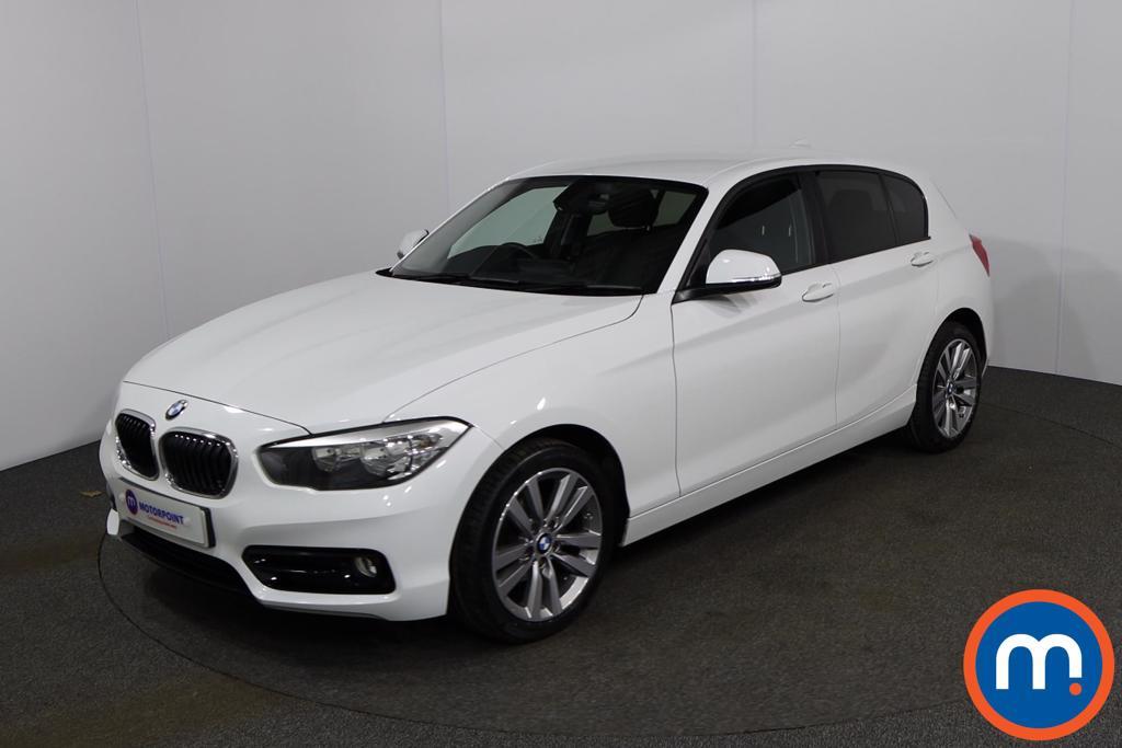 BMW 1 Series Sport - Stock Number 1149229 Passenger side front corner