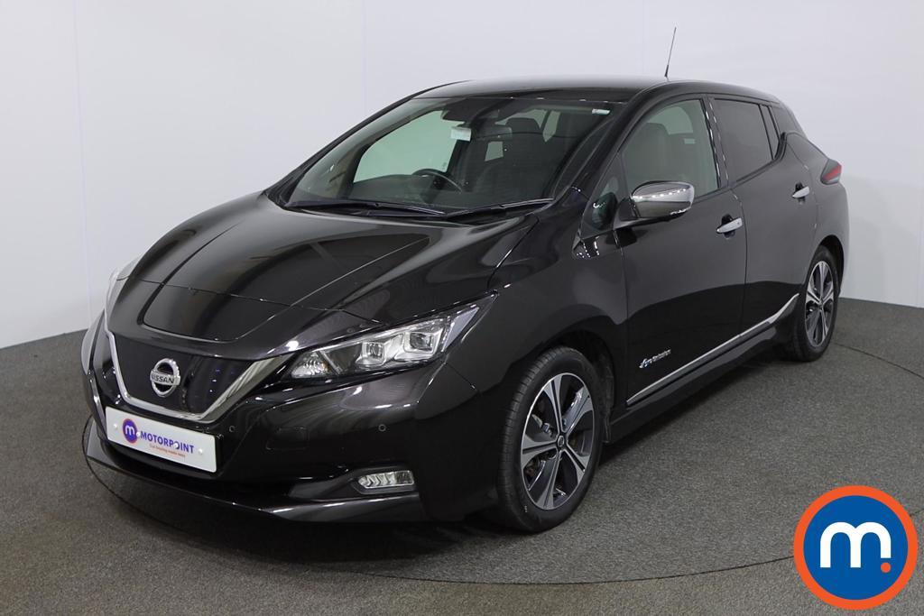 Nissan Leaf Tekna - Stock Number 1150910 Passenger side front corner