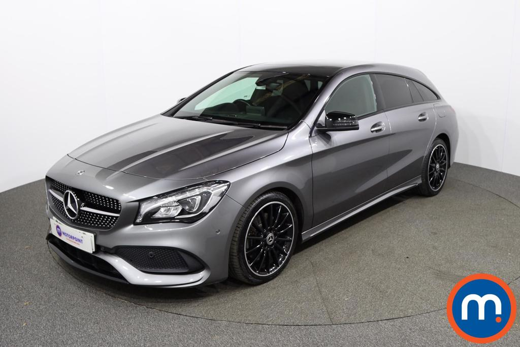 Mercedes-Benz CLA CLA 220 AMG Line Night Ed Plus 4Matic 5dr Tip Auto - Stock Number 1149173 Passenger side front corner