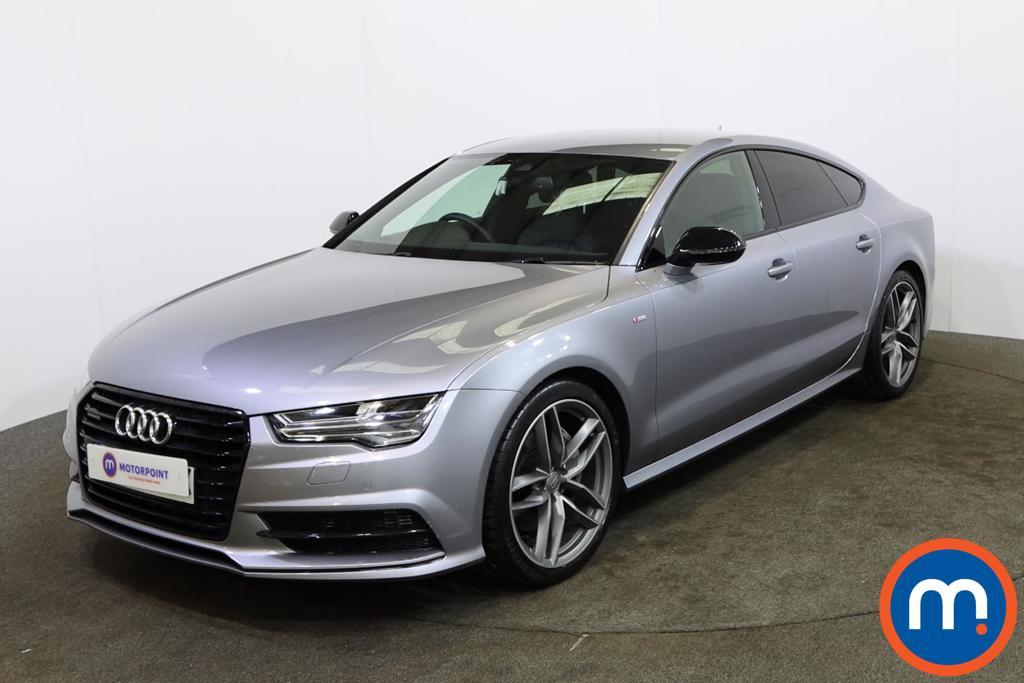 Audi A7 Black Edition - Stock Number 1149893 Passenger side front corner