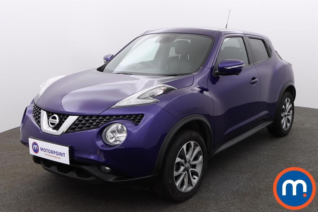 Nissan Juke Tekna - Stock Number 1146279 Passenger side front corner
