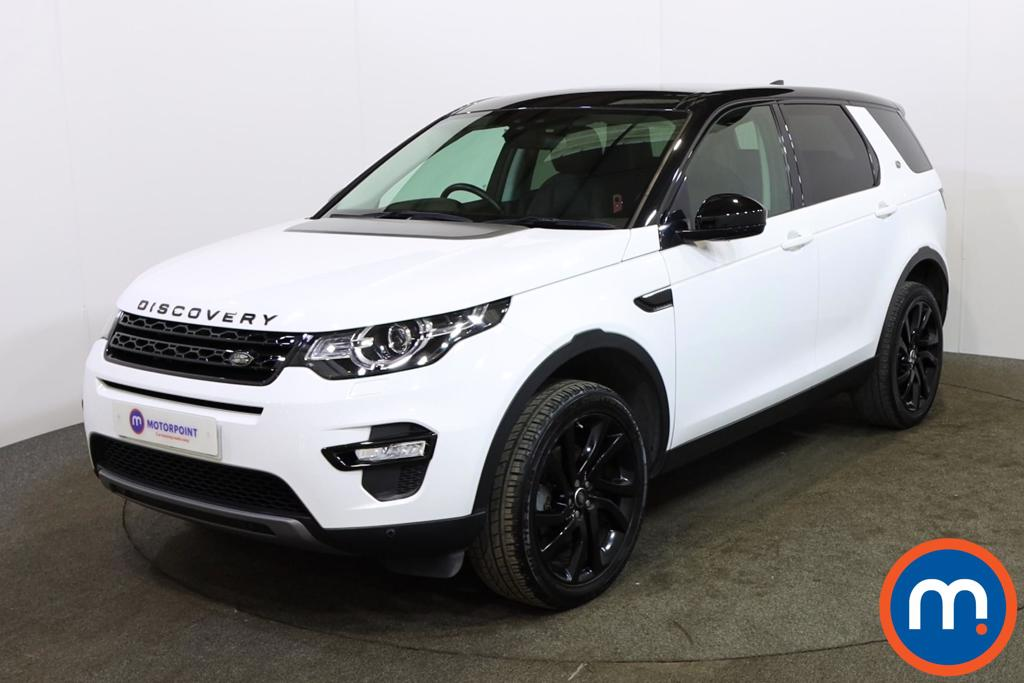 Land Rover Discovery Sport 2.0 TD4 180 HSE Black 5dr Auto - Stock Number 1151729 Passenger side front corner