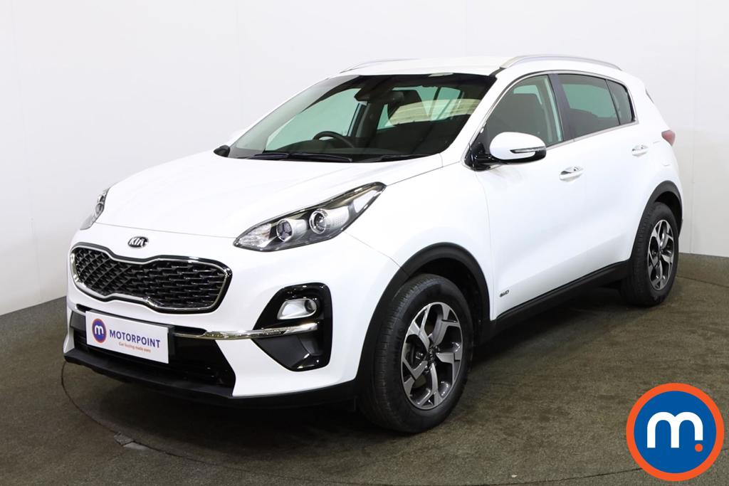 KIA Sportage 1.6T GDi ISG 2 5dr [AWD] - Stock Number 1152126 Passenger side front corner