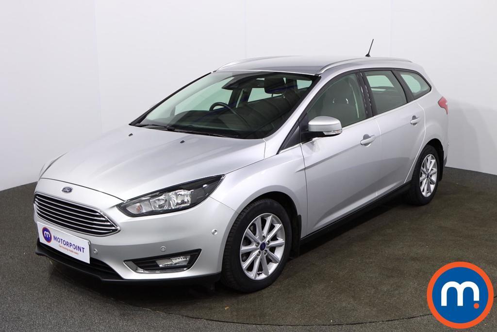 Ford Focus Titanium - Stock Number 1152107 Passenger side front corner