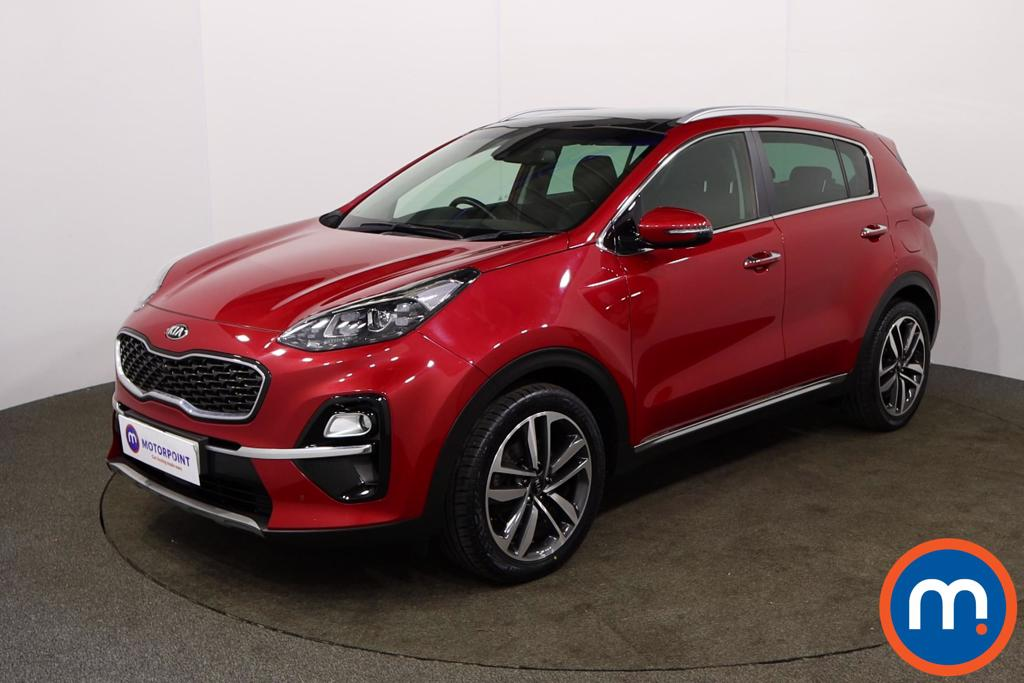 KIA Sportage 1.6 CRDi ISG 4 5dr DCT Auto - Stock Number 1152507 Passenger side front corner