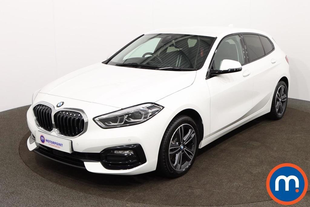BMW 1 Series Sport - Stock Number 1150185 Passenger side front corner