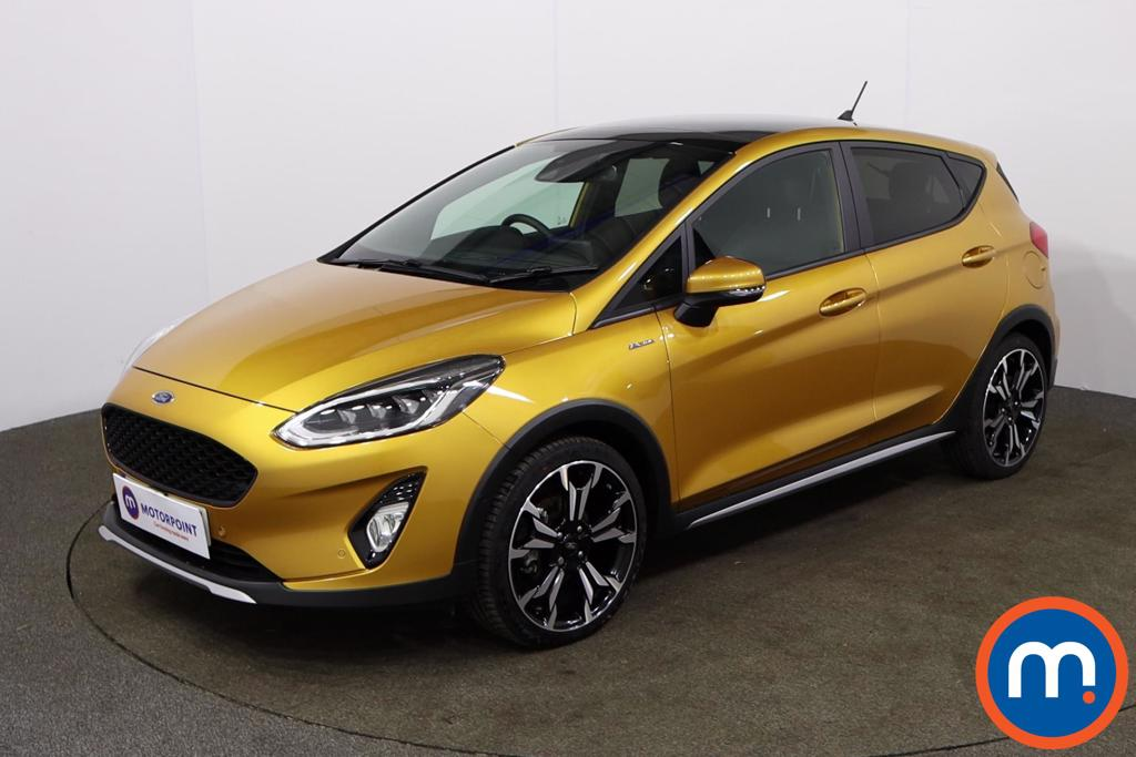 Ford Fiesta 1.0 EcoBoost 140 Active X Edition 5dr - Stock Number 1152760 Passenger side front corner