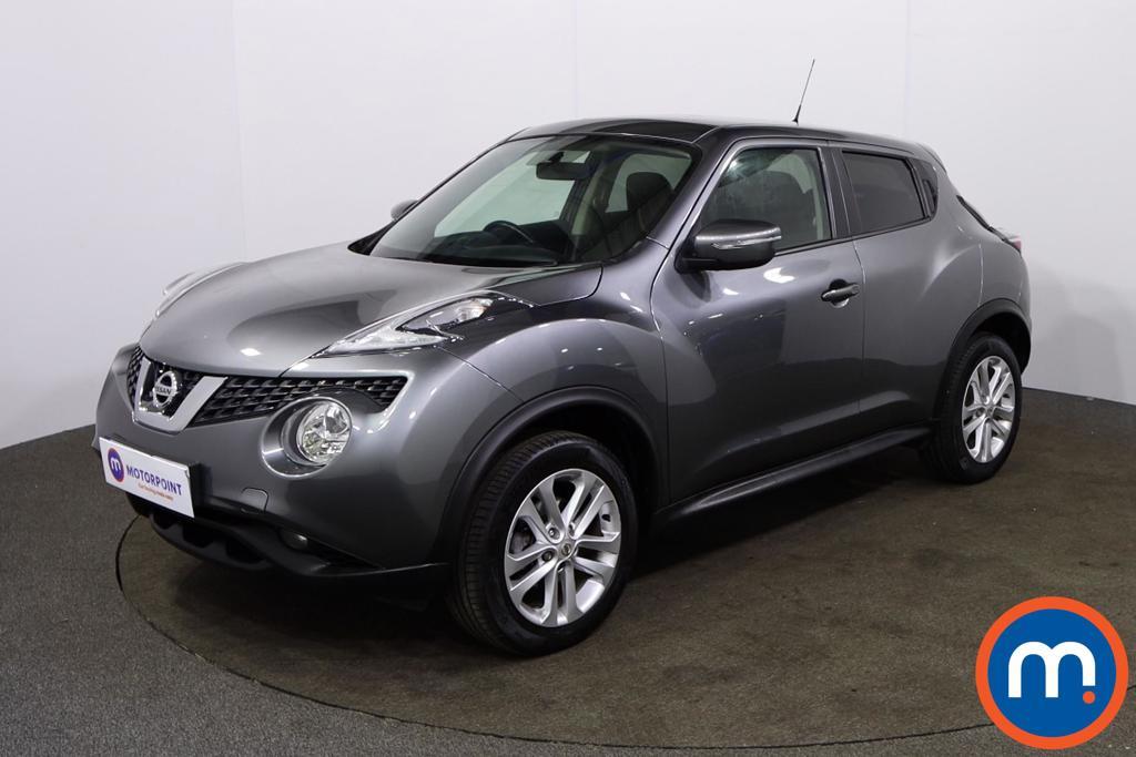 Nissan Juke Acenta - Stock Number 1152859 Passenger side front corner