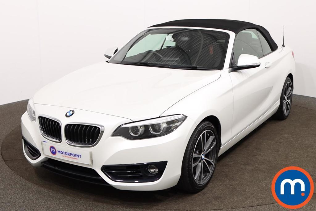 BMW 2 Series Sport - Stock Number 1152045 Passenger side front corner