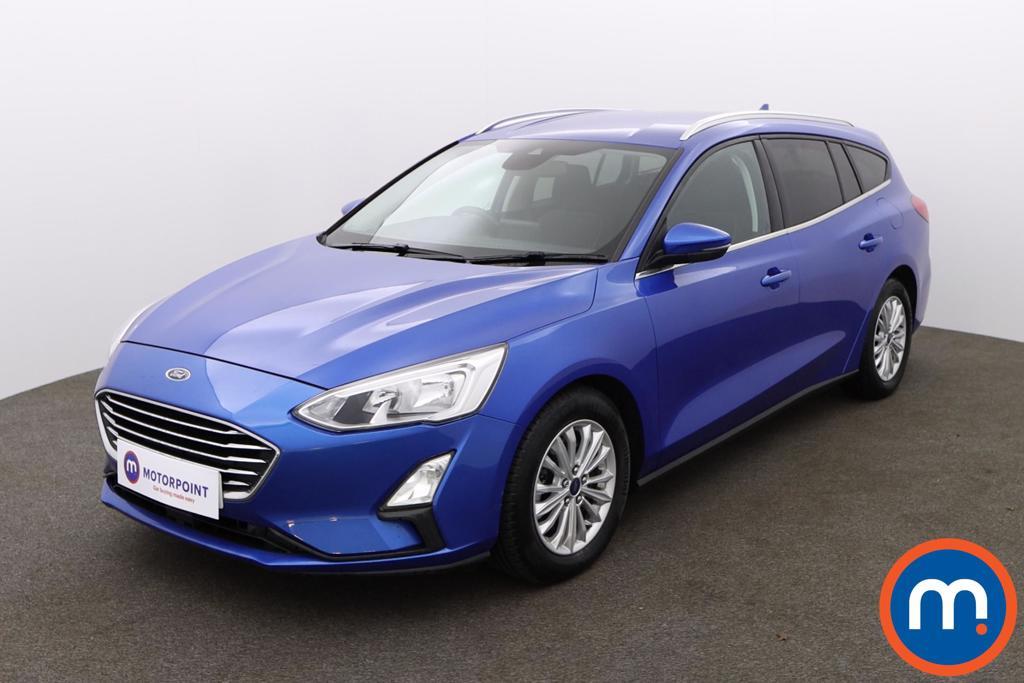 Ford Focus 1.0 EcoBoost 125 Titanium 5dr Auto - Stock Number 1152683 Passenger side front corner