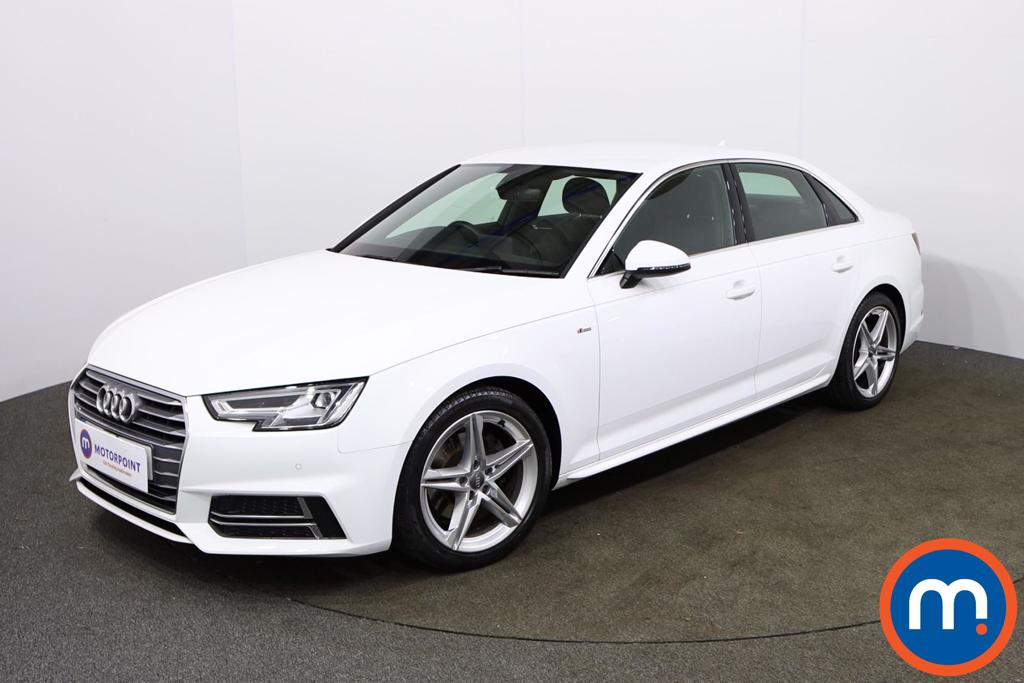 Audi A4 1.4T FSI S Line 4dr [Leather-Alc] - Stock Number 1154028 Passenger side front corner