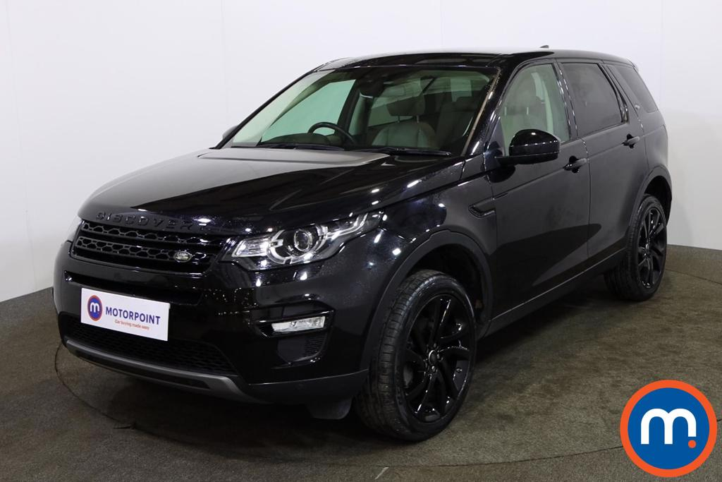 Land Rover Discovery Sport 2.0 TD4 180 HSE Black 5dr Auto - Stock Number 1151141 Passenger side front corner