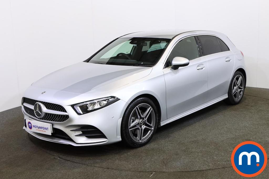 Mercedes-Benz A Class A180d AMG Line Executive 5dr Auto - Stock Number 1151723 Passenger side front corner