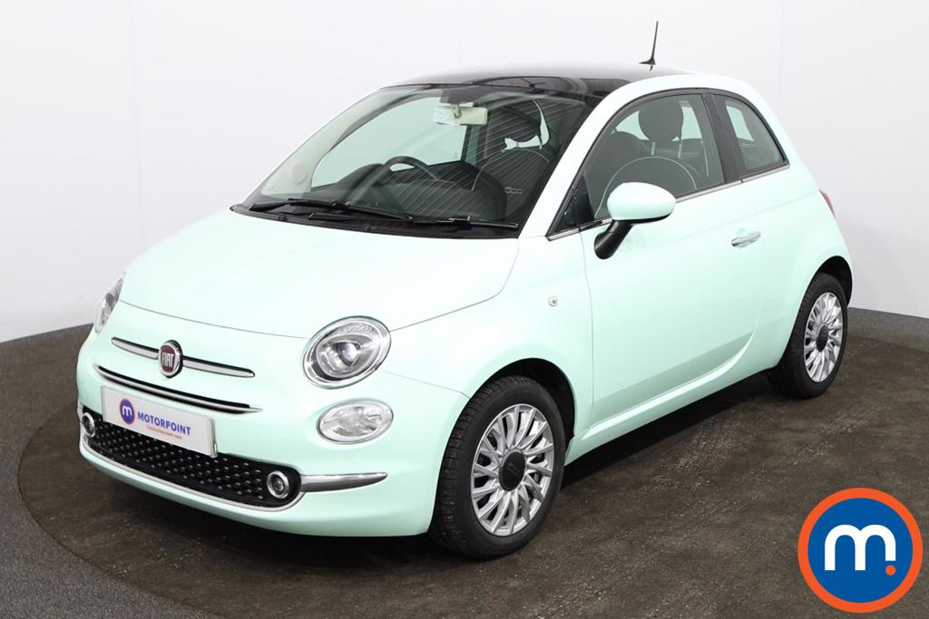Fiat 500 1.2 Lounge 3dr - Stock Number 1148796 Passenger side front corner