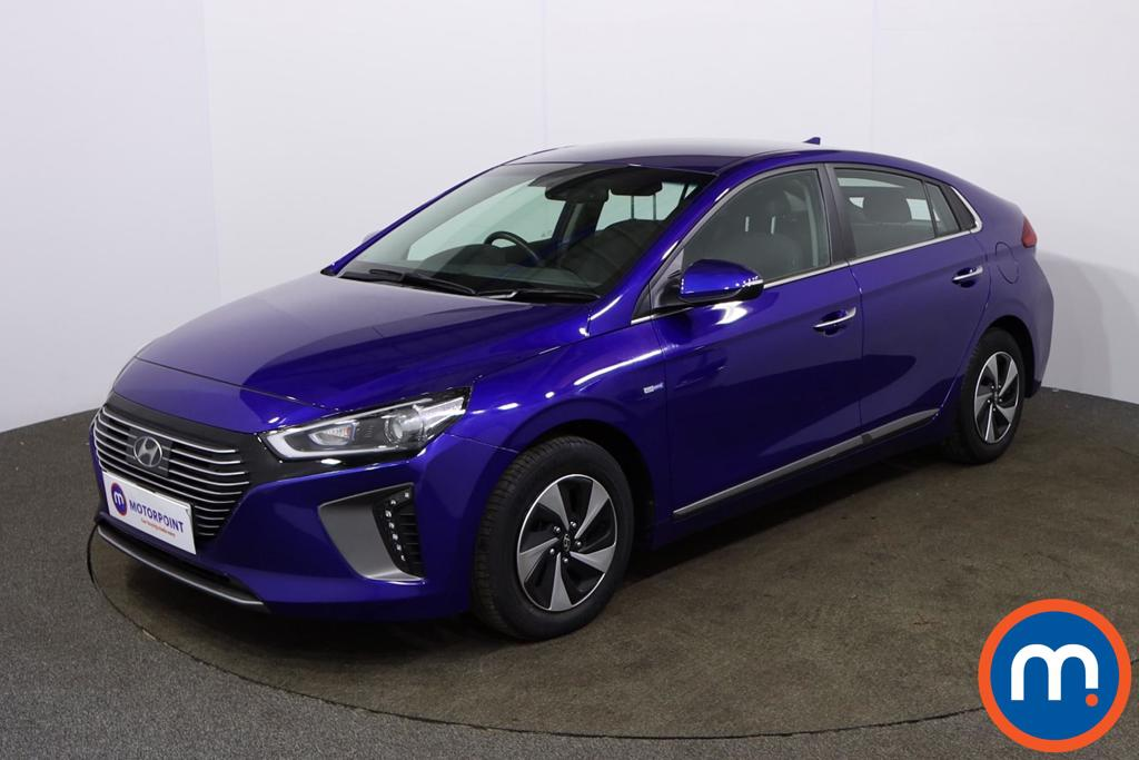 Hyundai Ioniq 1.6 GDi Hybrid Premium 5dr DCT - Stock Number 1152486 Passenger side front corner