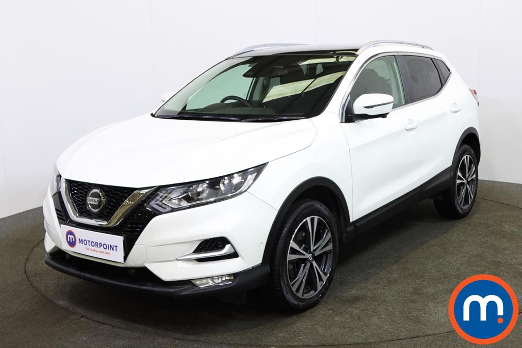 Nissan Qashqai 1.3 DiG-T N-Connecta 5dr [Glass Roof Pack] - Stock Number 1150737 Passenger side front corner