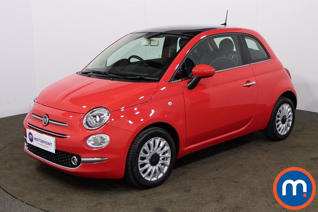 Fiat 500 1.2 Lounge 3dr - Stock Number 1154716 Passenger side front corner