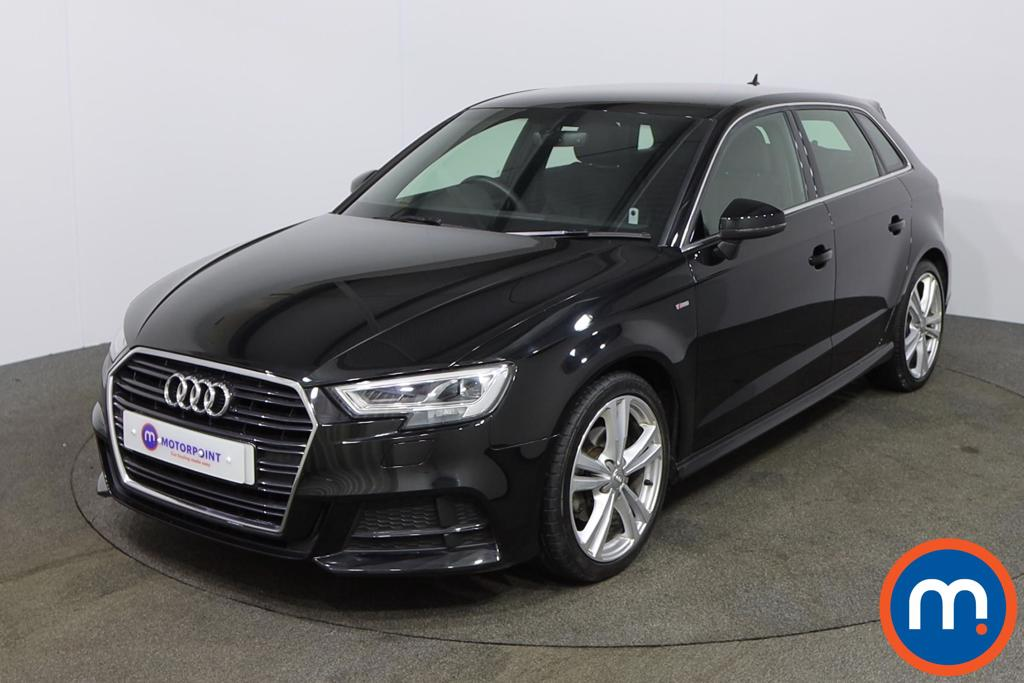 Audi A3 30 TDI 116 S Line 5dr S Tronic - Stock Number 1151696 Passenger side front corner