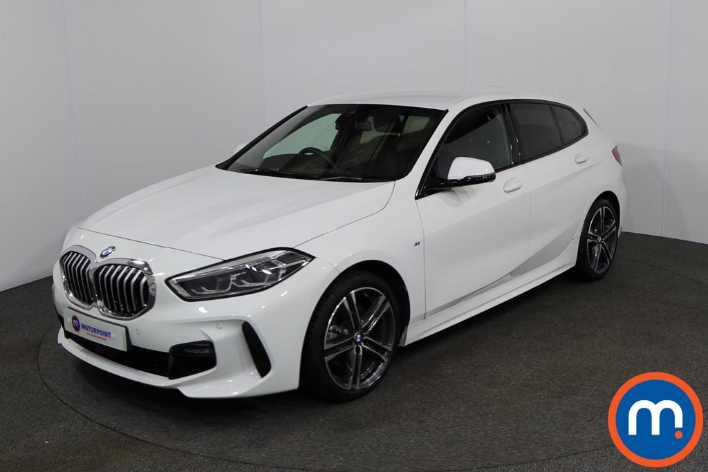 BMW 1 Series 118i M Sport 5dr Step Auto - Stock Number 1152956 Passenger side front corner