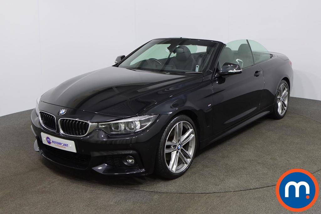 BMW 4 Series 420d [190] M Sport 2dr Auto [Professional Media] - Stock Number 1152896 Passenger side front corner