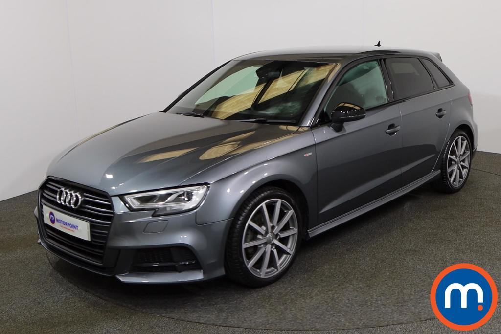Audi A3 30 TFSI 116 Black Edition 5dr - Stock Number 1154454 Passenger side front corner