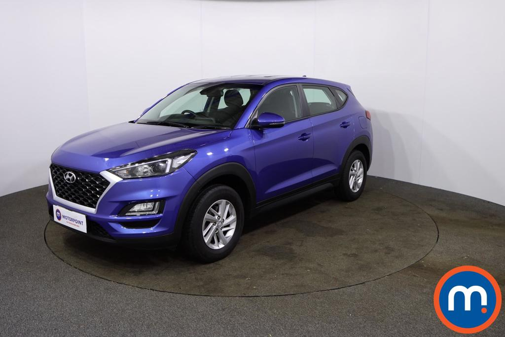 Hyundai Tucson 1.6 GDi S Connect 5dr 2WD - Stock Number 1150642 Passenger side front corner