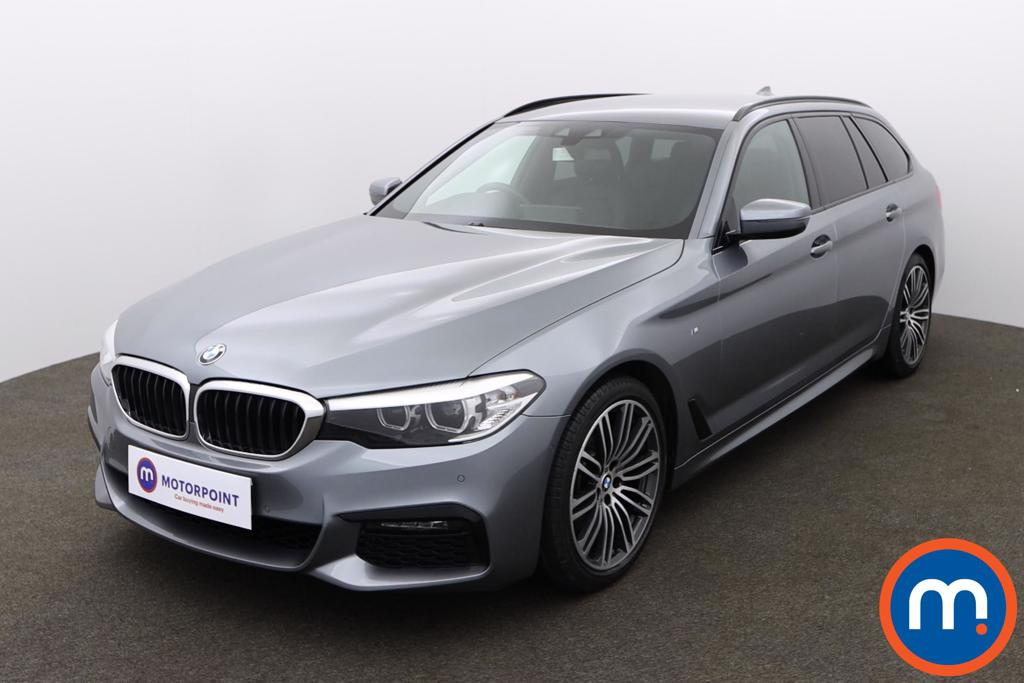BMW 5 Series 520d xDrive M Sport 5dr Auto - Stock Number 1154434 Passenger side front corner