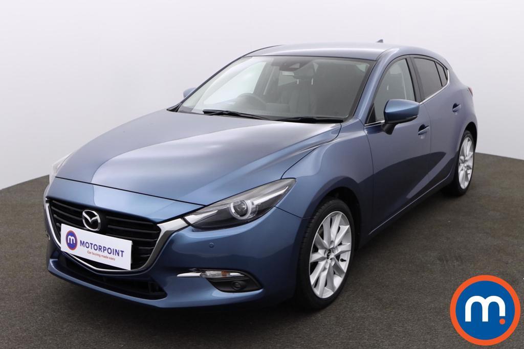 Mazda 3 2.0 Sport Nav 5dr - Stock Number 1157569 Passenger side front corner