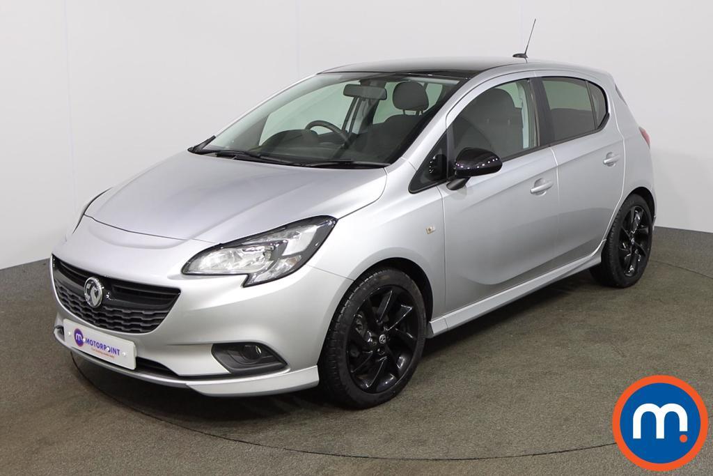 Vauxhall Corsa 1.4 SRi Vx-line Nav Black 5dr - Stock Number 1155835 Passenger side front corner