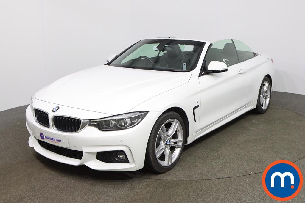 Used Or Nearly New Bmw 4 Series 420i M Sport 2dr Auto Professional Media 1153462 In White For Sale At Motorpoint Castleford Motorpoint