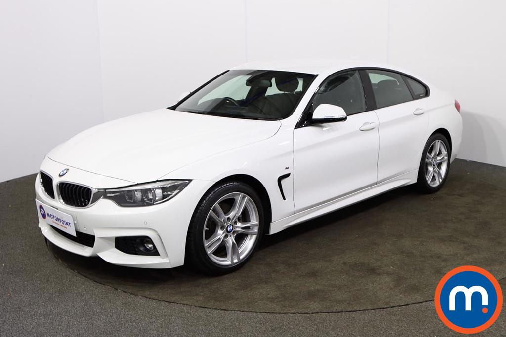 BMW 4 Series 420d [190] M Sport 5dr Auto [Professional Media] - Stock Number 1154458 Passenger side front corner