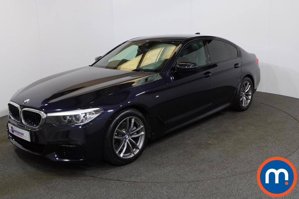 BMW 5 Series 520i M Sport 4dr Auto - Stock Number 1153053 Passenger side front corner