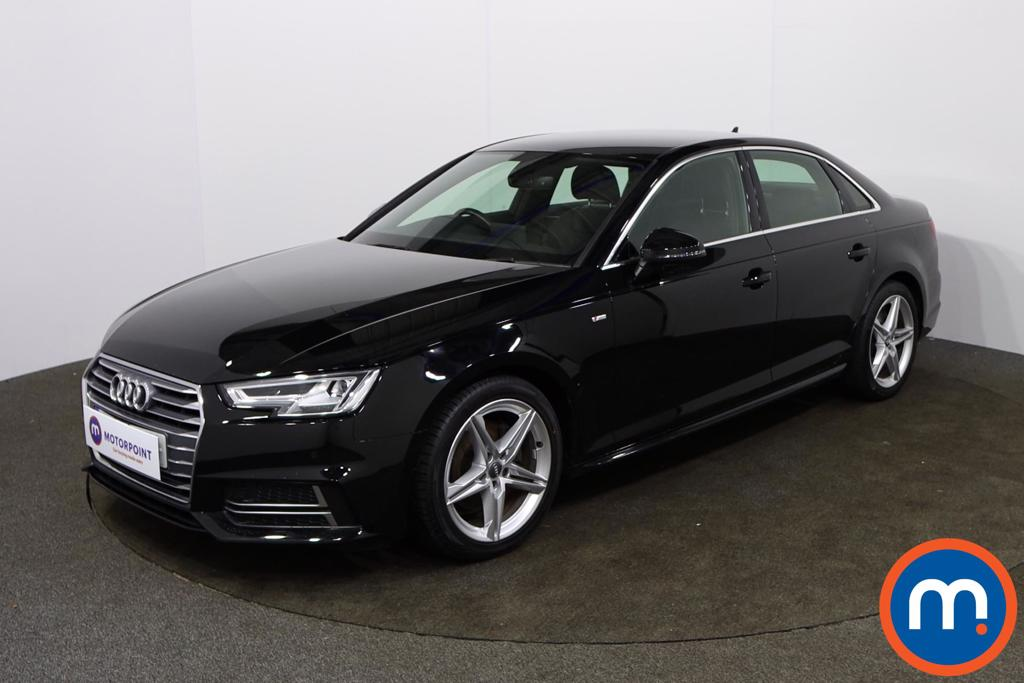 Audi A4 1.4T FSI S Line 4dr [Leather-Alc] - Stock Number 1156178 Passenger side front corner