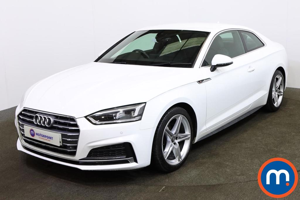 Audi A5 1.4 TFSI S Line 2dr S Tronic - Stock Number 1153626 Passenger side front corner