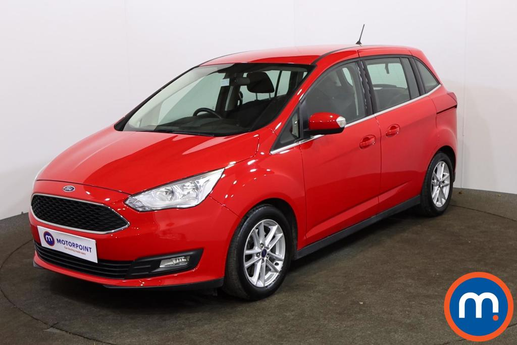 Ford Grand C-Max 1.0 EcoBoost 125 Zetec Navigation 5dr - Stock Number 1156685 Passenger side front corner