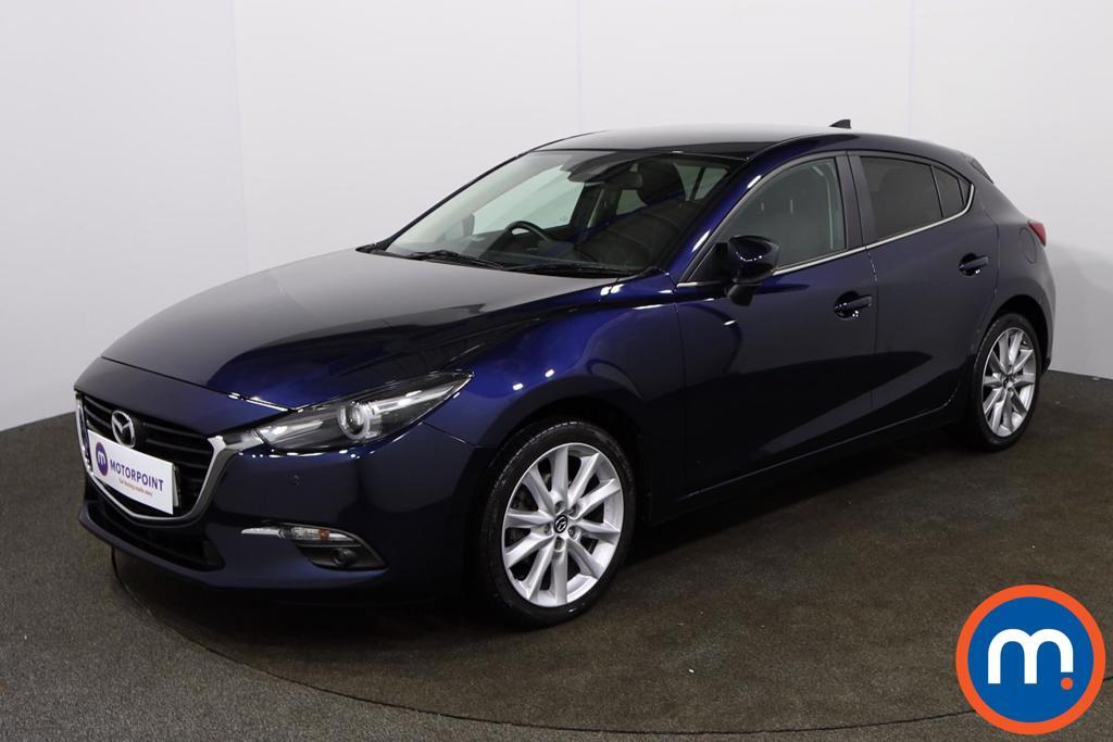 Mazda 3 2.0 Sport Nav 5dr - Stock Number 1157573 Passenger side front corner