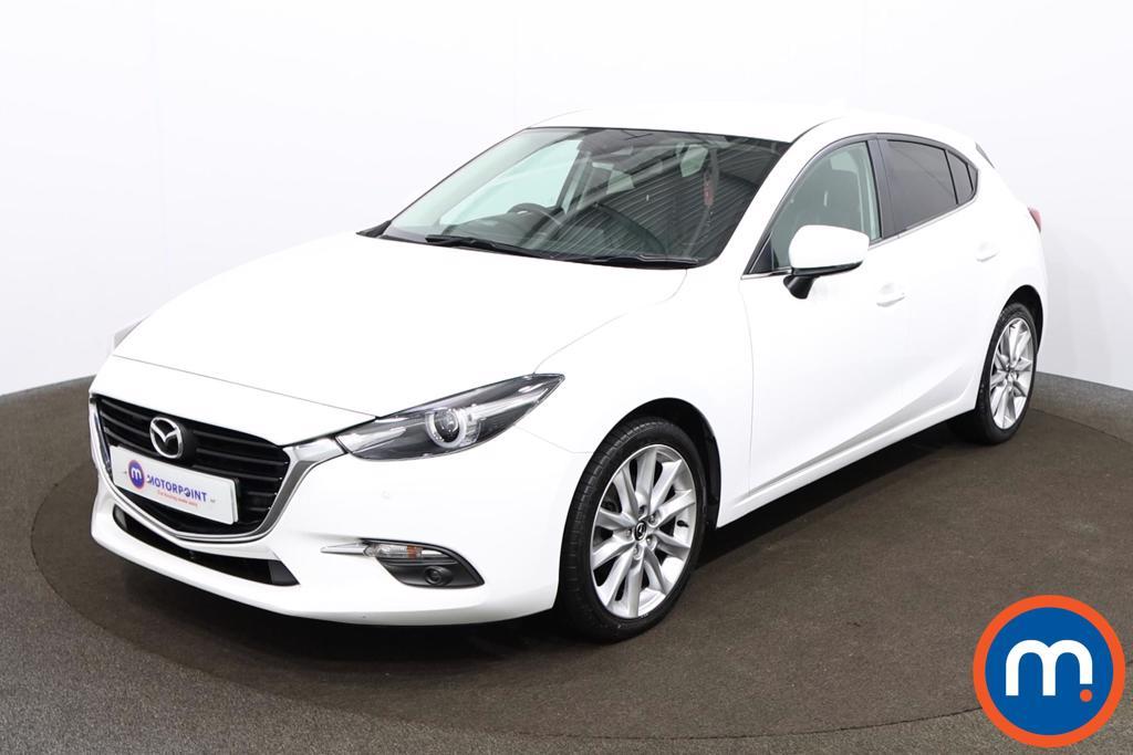 Mazda 3 2.0 165 Sport Nav 5dr - Stock Number 1157579 Passenger side front corner