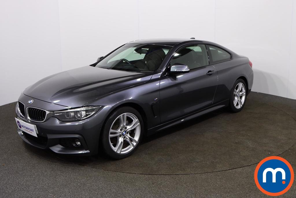 BMW 4 Series 420d [190] M Sport 2dr Auto [Professional Media] - Stock Number 1155747 Passenger side front corner