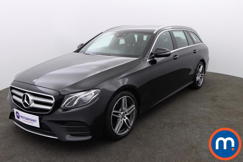 Mercedes-Benz E Class E220d AMG Line 5dr 9G-Tronic - Stock Number 1155836 Passenger side front corner
