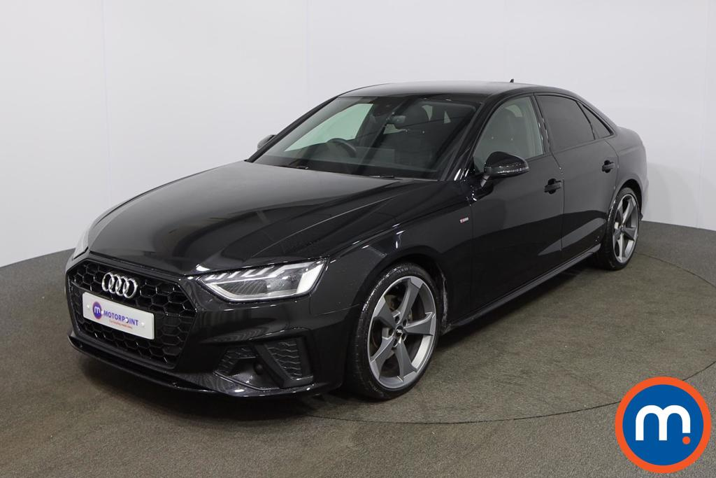 Audi A4 35 TFSI Black Edition 4dr S Tronic - Stock Number 1154616 Passenger side front corner