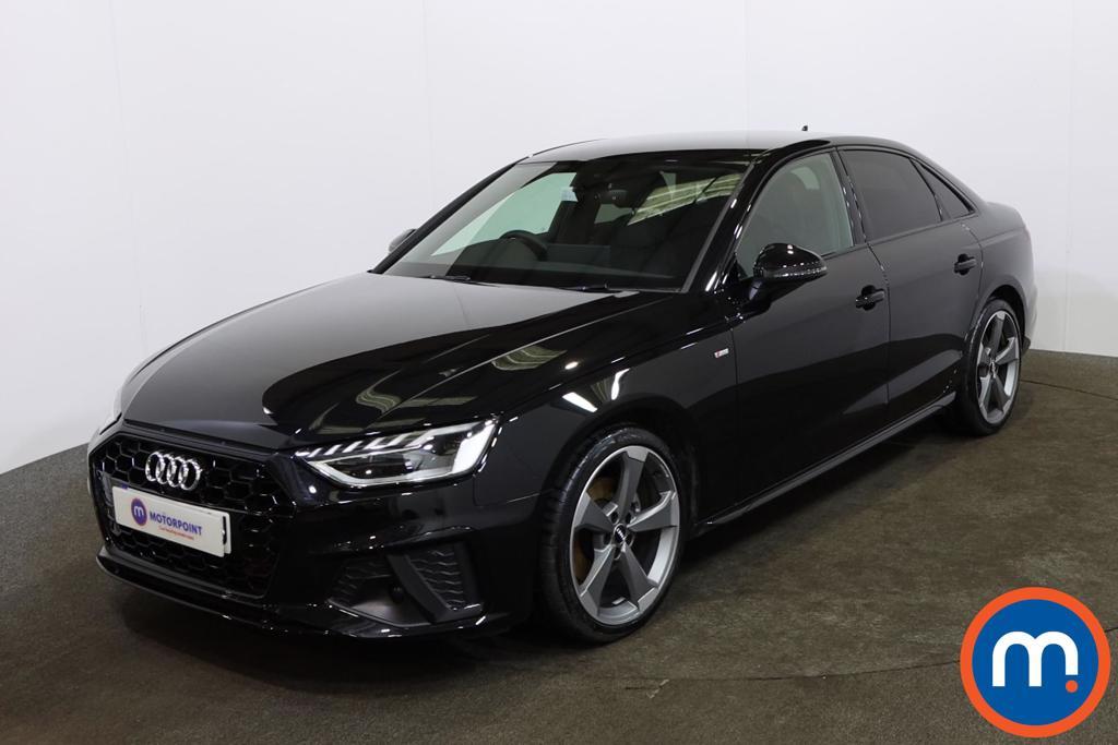 Audi A4 35 TFSI Black Edition 4dr [Comfort-PlusSound] - Stock Number 1156211 Passenger side front corner