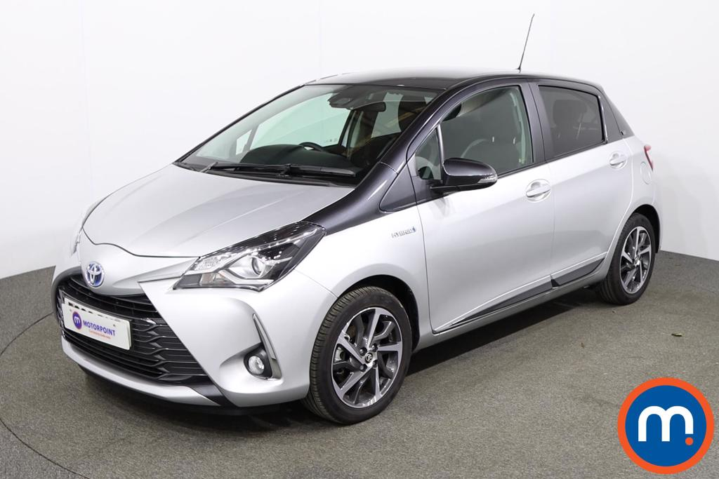 Toyota Yaris 1.5 Hybrid Y20 5dr CVT [Bi-tone] - Stock Number 1154876 Passenger side front corner
