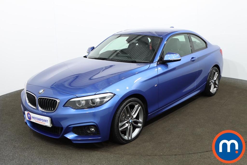 BMW 2 Series 220d M Sport 2dr [Nav] - Stock Number 1154971 Passenger side front corner