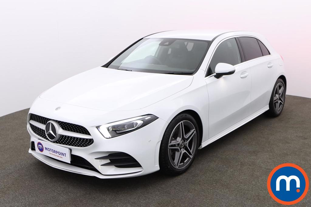 Mercedes-Benz A Class A180 AMG Line Executive 5dr Auto - Stock Number 1156620 Passenger side front corner