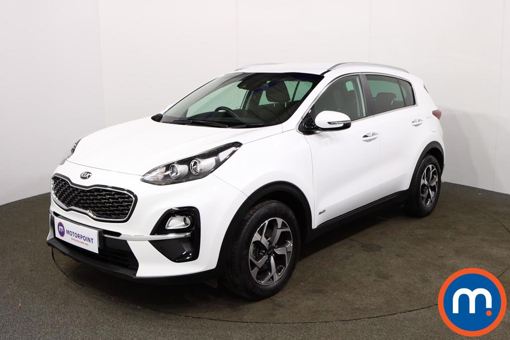 KIA Sportage 1.6T GDi ISG 2 5dr [AWD] - Stock Number 1155885 Passenger side front corner