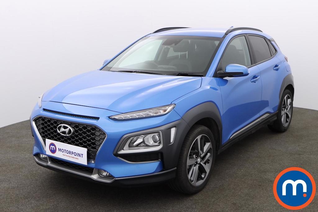 Hyundai Kona 1.0T GDi Blue Drive Premium 5dr - Stock Number 1156557 Passenger side front corner