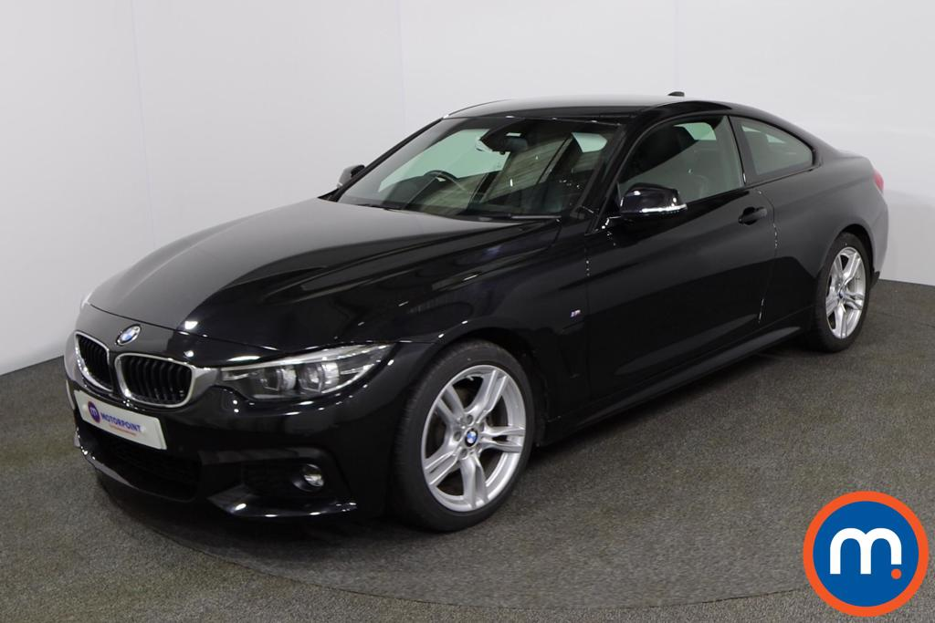 BMW 4 Series 420d [190] M Sport 2dr Auto [Professional Media] - Stock Number 1157270 Passenger side front corner
