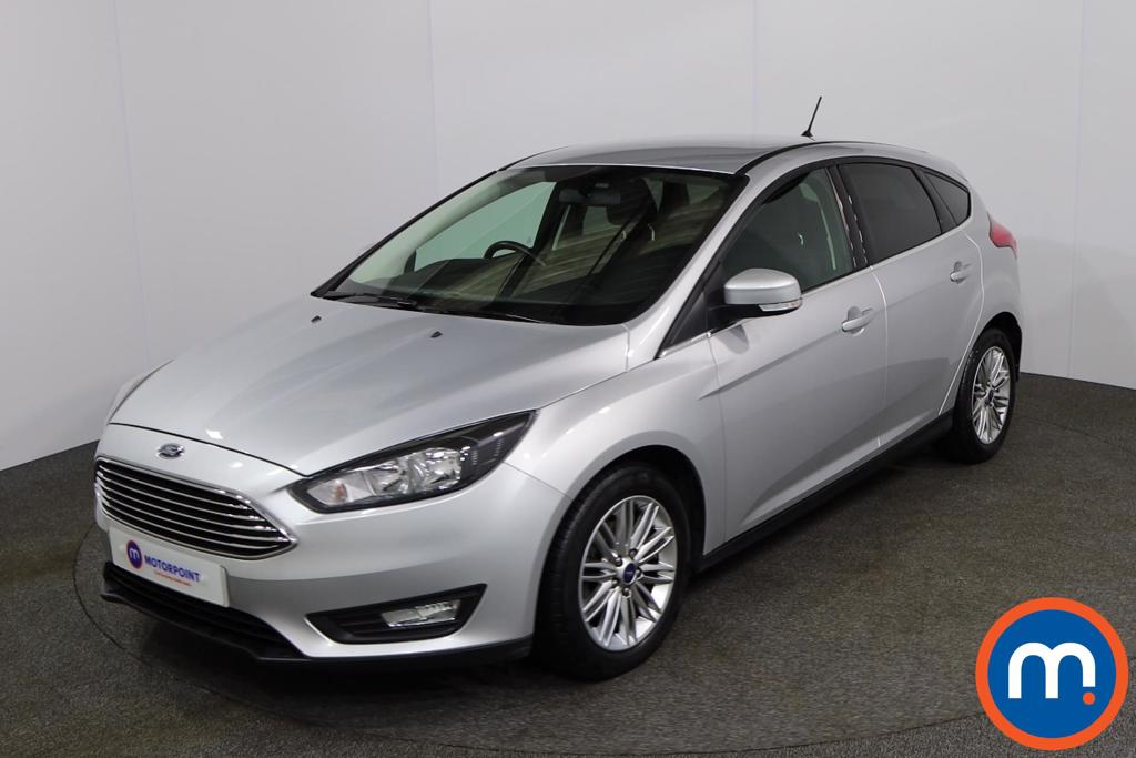 Ford Focus 1.0 EcoBoost 125 Zetec Edition 5dr Auto - Stock Number 1158530 Passenger side front corner