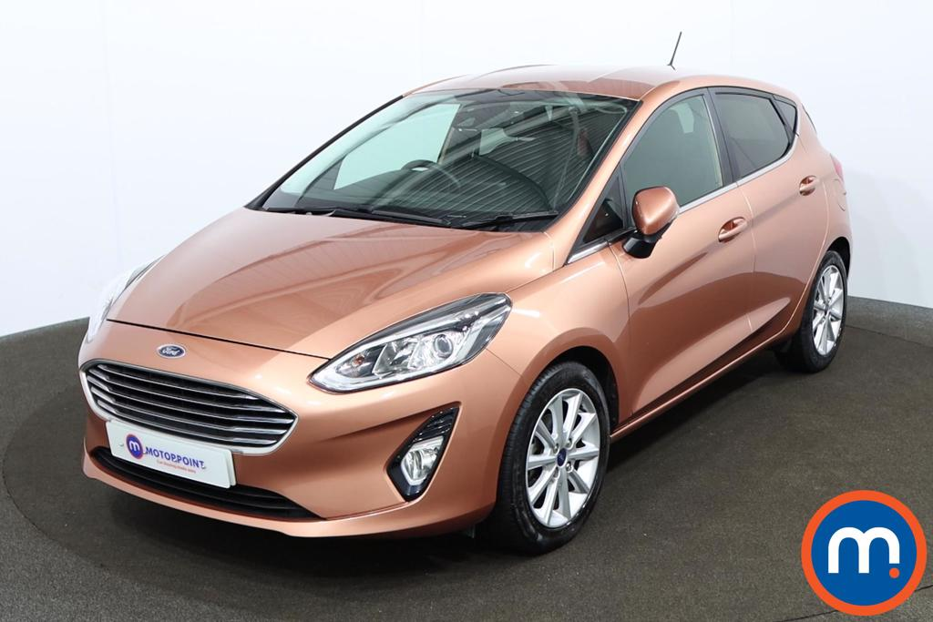 Ford Fiesta 1.0 EcoBoost Titanium B-PlusO Play 5dr - Stock Number 1153383 Passenger side front corner