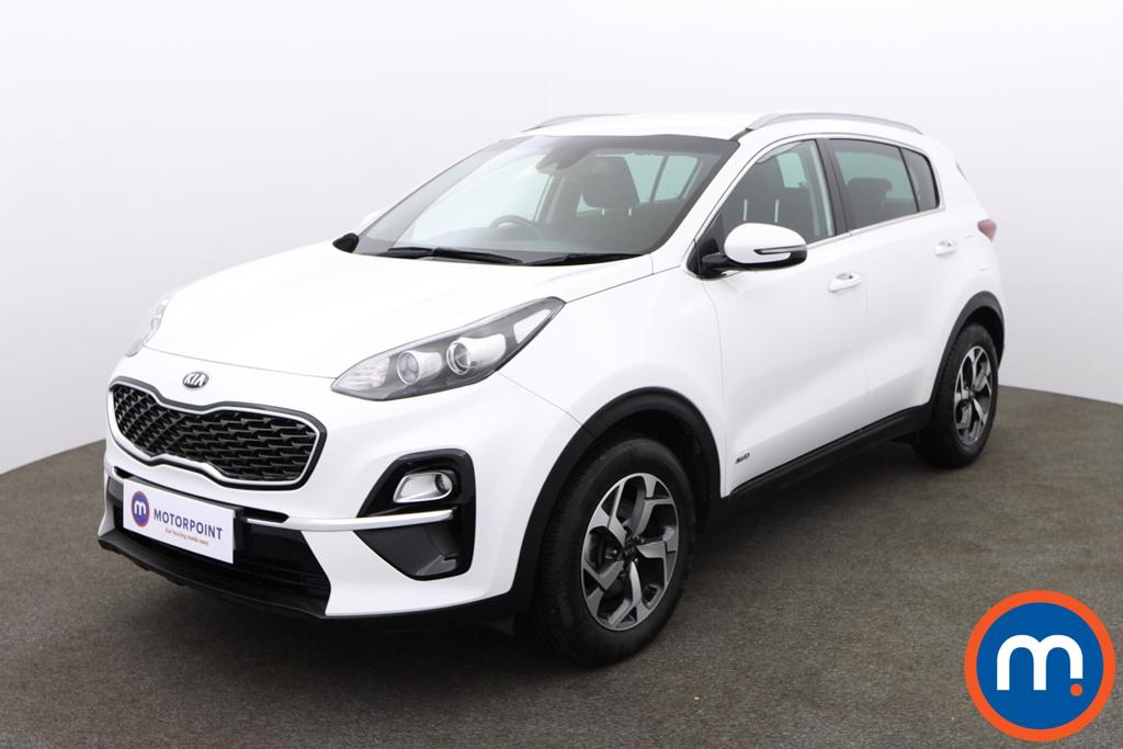 KIA Sportage 1.6T GDi ISG 2 5dr [AWD] - Stock Number 1155880 Passenger side front corner